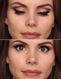 eye makeup for deep set eyes step by