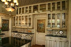 kitchen has floor to ceiling cabinets