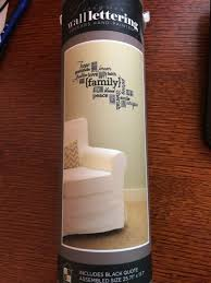 Dcwv Home Removable Vinyl Lettering Family 25 71x17 7 Decals Stickers Vinyl Art Ebay Link In 2020 Vinyl Lettering Wall Stickers Room Family Wall Decals