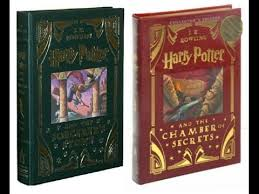 harry potter leatherbound