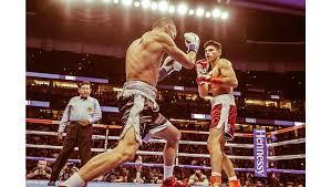 Ryan Garcia lands 'perfect left hook' for first-round KO at Honda Center –  Orange County Register