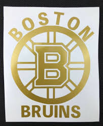 Find Many Great New Used Options And Get The Best Deals For Boston Bruins Gold Vinyl Car Decal New Gift At The Best On Car Decals Vinyl Gold Vinyl Car