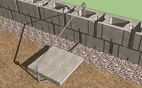 Fence Post In Retaining Wall Cornerstone Wall Solutions