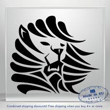 Lion Head Decal Funny Scary Puma Jdm Auto Car Bumper Window Vinyl Sticker Laptop Ebay