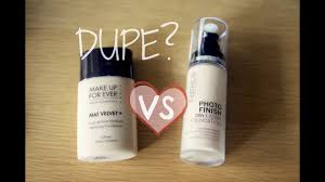 dupe parison mufe vs catrice you