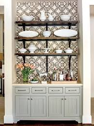 how to use kitchen wallpaper to update