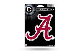 Alabama Crimson Tide Window Decal Sticker Officially Licensed Custom Sticker Shop