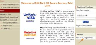 activate credit card in icici bank