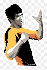 Lee Sticker By Craig Drake Way Of The Dragon Bruce Lee Free Transparent Png Clipart Images Download