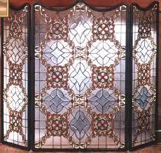 furniture fireplace screens victorian