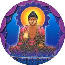 Amazon Com Mandala Arts Buddha Light Spiritual Window Sticker Decal Circular 4 5 Translucent Automotive