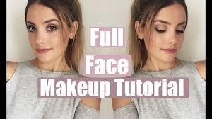 natural face makeup tutorial saubhaya