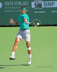 Rafael Nadal Forehand impact Final ...