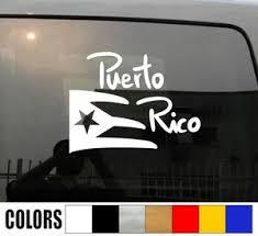 Puerto Rico Flag Vinyl Decal Puerto Rico Factory