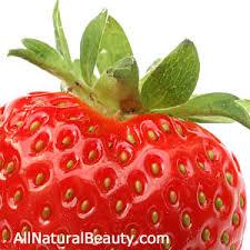 strawberries milk manicure all