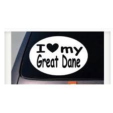 I Love My Great Dane Sticker Dog Truck Window 6 Sticker Decal C401 Walmart Com Walmart Com