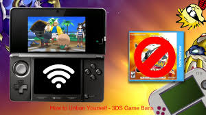 Nintendo 3DS]How to Unban Yourself (Regarding Game Bans & Pokémon ...