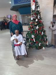 فالصو بابا نويل وبليتاشو معهد ناصر يحتفل بـ 2020 مع المرضى صور