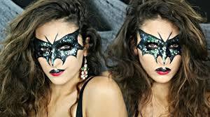 glitter bat makeup tutorial