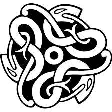 15 3cm 14 3cm Celtic Knot Snake Fashion Interesting Car Sticker Vinyl Decals Black Silver S6 3096 Aliexpress