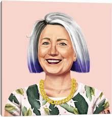 Hillary Clinton Canvas Wall Art | iCanvas