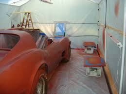 my diy paint booth corvetteforum