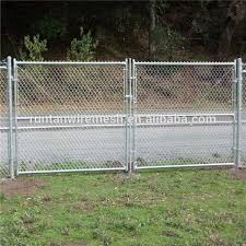 Chainlink Fence Gate Buy Chainlink Fence Gate Tennis Court Fencing Tennis Court Chain Link Fence Price Product On Alibaba Com