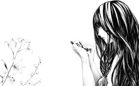 Black And White Anime Wallpapers Top Free Black And White Anime