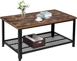 com tomcare coffee table rustic