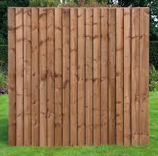 7ft X 6ft Heavy Duty Vertilap Fence Panels Fencevert7 Fence Panels Backyard Fences Brick Fence