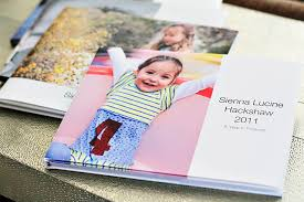yearly photo book ideas