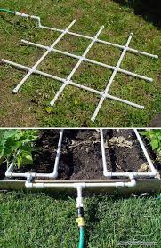 gardening projects made with pvc pipes
