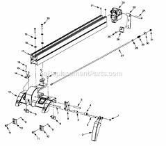 Craftsman Table Saw 351218330 Ereplacementparts Com
