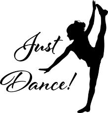Just Dance Vinyl Wall Art Sticker Ballet Breakdance Salsa Modern Dance Sport Dance Silhouette Silhouette Art Dance Logo