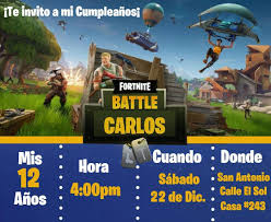 Invitacion De Fortnite Pide Tu Invitacion Digital O
