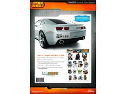 Star Wars Car Decals Heroes Villains Family Graphics