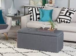 storage bench in every room
