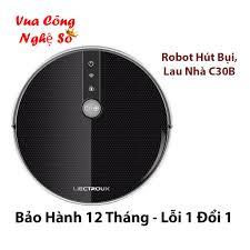 CHÍNH HÃNG] Robot lau nhà hút bụi Liectroux C30B - chống va chạm thông  minh, bảo vệ nội thất Full Box - Bh 12 tháng, Giá tháng 10/2020