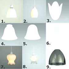 glass lamp shades for ceiling lights