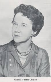 Myrtle Carter Barsh (1907-1980) - Find A Grave Memorial