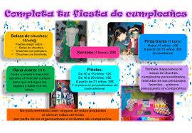 Cumpleanos Tradicional Aladdin Parque De Ocio Infantil De Azuqueca