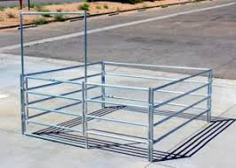Green Portable Livestock Fence Panels Sheep Goat Corral Panel With Gate For Sale Horse Corral Panels Manufacturer From China 107909488