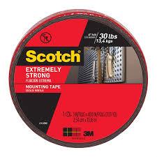 scotch 2 5cm x 10 16m extreme double