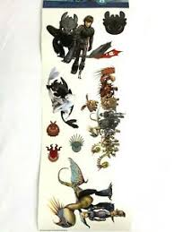 How To Train Your Dragon Decals Hidden World Hiccup Toothless Wall Vinyl Sticker Ebay