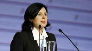 The European Commissionaire Vera Jourova: EC will act with all ...