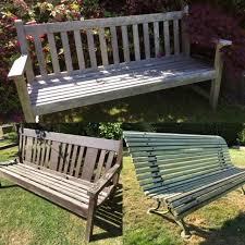 antique vintage garden benches in stock