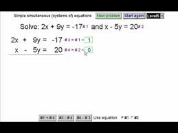equations in two variables 2