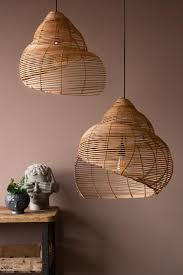 beautiful spiral shell shaped rattan