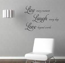 Live Love Laugh 2 Wall Quote Sticker Decal Wall Decals Stickers Ebay