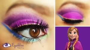 frozen anna inspired eyeshadow tutorial